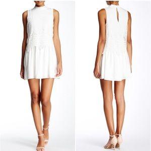 Do + Be Crochet Top Layered Dress